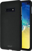 Azuri Flexible Sand Samsung Galaxy S10 E Back Cover Zwart