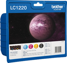Brother LC-1220VALBP 4-Kleuren Pack