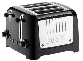Dualit Lite Gloss 4-slot Zwart