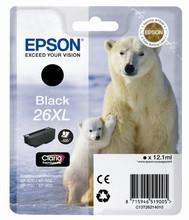 Epson 26 XL Cartridge Zwart (C13T26214010)