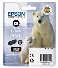 Epson 26 XL Cartridge Foto Zwart (C13T26314010)