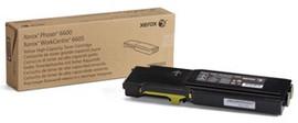 Xerox 6600/6605 Toner Geel XL