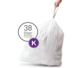 Simplehuman Afvalzak Code K - 38 Liter (20 stuks)