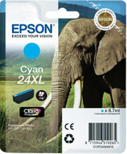 Epson 24 XL Inktcartridge Cyaan