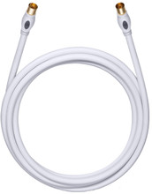Oehlbach Coax Antennekabel 7,50 m Wit