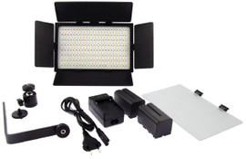Falcon Eyes LED Lamp Set Dimbaar DV-384CT-K2