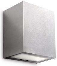 Philips Flagstone Wandlamp Inox