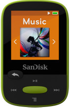 Sandisk Sansa Clip Sports 8GB limoen