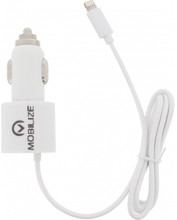 Mobilize Autolader Apple Lightning + MicroUSB 4,2A