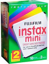 Fuji Instax Mini Colorfilm Glossy 10x2 pak