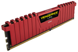 Corsair Vengeance LPX 8 GB DIMM DDR4-2400 CL 14 Rood