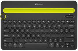 Logitech Multi Device Toetsenbord K480 zwart Azerty