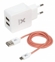 A-Solar Xtorm Micro USB Kabel + Adapter