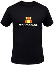 T-shirt man shortsleeve 2014 - MP3-man.nl maat S