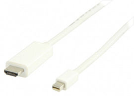 Valueline Mini-DisplayPort naar HDMI 2 meter