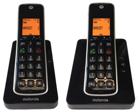 Motorola CD202 Duo Zwart