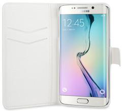 Xqisit Slim Wallet Case Samsung Galaxy S6 Edge Wit