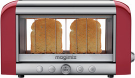 Magimix Le Vision toaster Rood