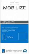 Mobilize Mate 10 Lite Screenprotector Plastic Duo Pack