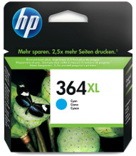 HP 364 XL Ink Cartridge Cyan (Blauw) CB323EE