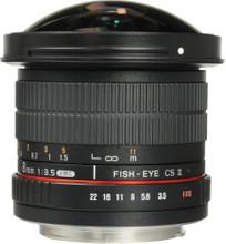 Samyang 8mm f/3.5 Fisheye MC CSII Canon