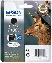 Epson T1301 XL Ink Cartridge Black (Zwart)