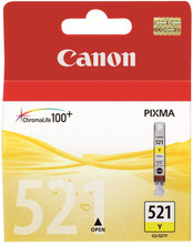 Canon CLI-521Y Yellow (Geel)