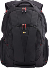"Case Logic Backpack 15,6"" Black Red"