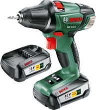 Bosch PSR 18 LI-2 + 2e accu