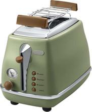 DeLonghi Icona Vintage Groen Broodrooster