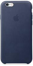 Apple iPhone 6/6s Leather Case Blauw