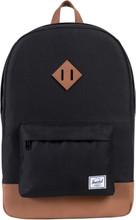 Herschel Heritage Black/Tan Synthetic Leather