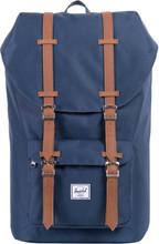 Herschel Little America Navy/Tan Synthetic Leather