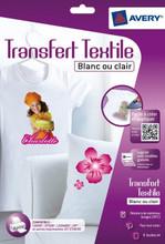 Avery T-Shirt Transfer 210x297mm 8 Vellen