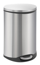 EKO Shell Bin 50 Liter Mat RVS