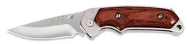 Buck Folding Alpha Hunter Rosewood