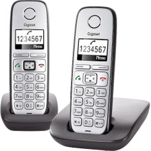 Gigaset E310 DUO Big Button Silver