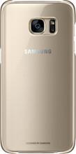 Samsung Galaxy S7 Edge Clear Cover Goud