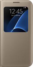 Samsung Galaxy S7 Edge S View Cover Goud