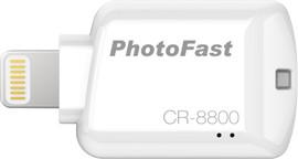 Photofast CR-8800 Flashdrive Lightning MicroSD Wit