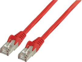 Valueline Netwerkkabel UTP CAT5e 0,5 meter Rood