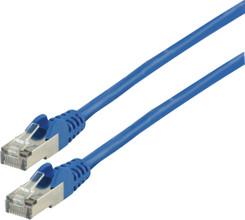 Valueline Netwerkkabel FTP CAT6 0,5 meter Blauw