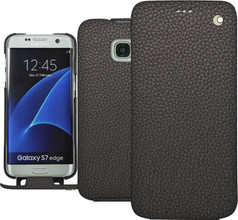 Noreve Tradition Grain Leather Case Galaxy S7 Edge Grijs