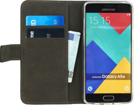 Mobilize Gelly Wallet Book Case Galaxy A5 (2016) Zwart