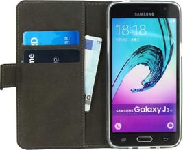 Mobilize Gelly Wallet Book Case Galaxy J3 (2016) Zwart