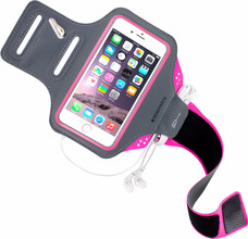 Mobiparts Comfort Fit Sportarmband iPhone 6/6s/7 Roze