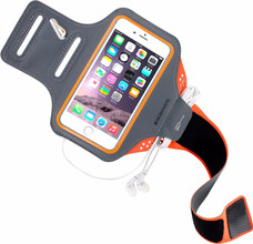 Mobiparts Comfort Fit Sportarmband iPhone 6/6s/7 Oranje