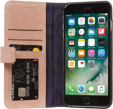 Decoded Leather Wallet Case iPhone 7+/8+ Roze
