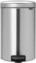 Brabantia NewIcon Pedaalemmer 20 Liter mat rvs
