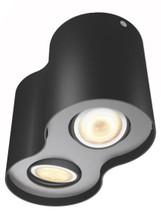 Philips Hue Pillar 2-Spot Zwart
